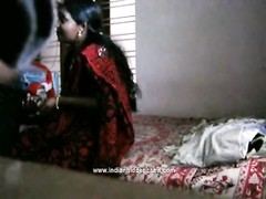 homemade mms of indian bhabhi fellatio and nailed in missionary style Thumb