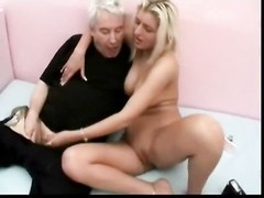 Dad ravages steamy blonde daughter Thumb