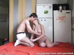 nice Russian teenage  lovers hookup Thumb