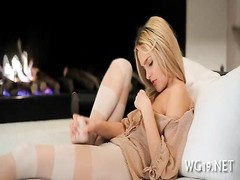 chick is undressing on cam Thumb