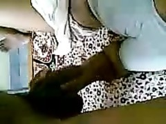 Indian Houswife foreplay with her Partner's shaft Thumb