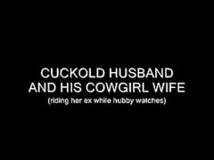 CGS - CUCKOLD spouse AND HIS COWGIRL wife Thumb