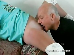 nice young whore deep-throats And smashes Dave Cummings Thumb