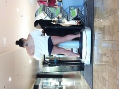 wife teasing at the mall Thumb