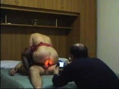 AMATEUR ITALIAN CUCKOLD FILMING HIS WIFE Thumb
