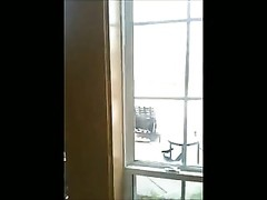 BBC jacks  in front of window at swimsuit  sweetheart ! Thumb