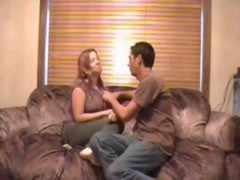 Couple sex on couch at house Thumb