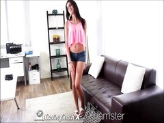 Casting Couch-X teenage  nympho gets over shyness on cam Thumb