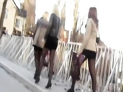 A lot of swedish women in nylon and heels Thumb