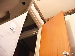 Hidden cam - sunless caught in bathroom Thumb
