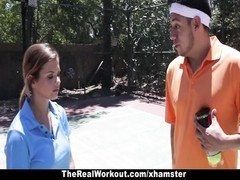 TheRealWorkout - Keisha Grey plowed After Playing Tennis Thumb