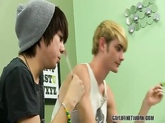 Kyler and Preston observe redtube and get crazy Thumb