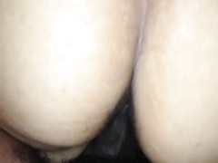 jizzing on my wife's bootie and in slit Thumb