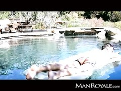 ManRoyale - twinks get moist fuckin' by the pool Thumb