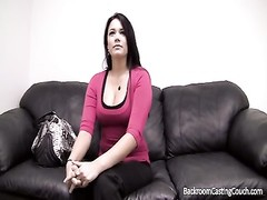 Creampie for dinner on casting couch Thumb