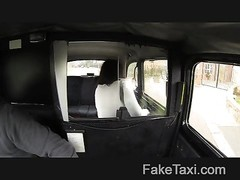 FakeTaxi - deep-throat gagging to the ball sack Thumb