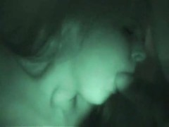 blowjob caught on nightvision cam Thumb