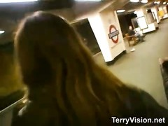 Public flashing at the London Underground Thumb