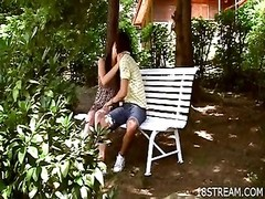 Outdoor insatiable teenage  sex games Thumb