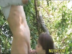 hottie gets pecker in snatch Thumb