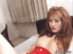 oriental bombshell gives proper bj and gets facial Thumb