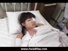 Japanese stunners love facial cumshot all on their face 10 Thumb