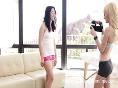 Nubiles Casting - teenage  sweetheart  will set aside anything for money Thumb