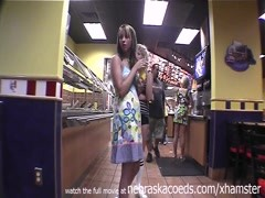 Being stupid and naked at fast food place real home video Thumb