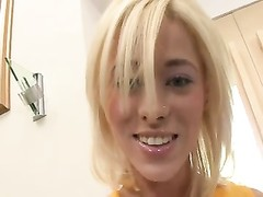 Cheerleader comes with sweet and gets a tear up and a CCreampie Thumb