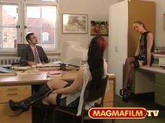 Tyra Misoux in threesome action Thumb