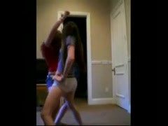 Seductive ass dancing with funny Persian music ! Thumb