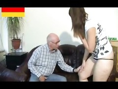 German grandpa makes young damsel kinky Thumb