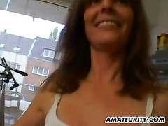 super hot fledgling  milf gets torn up in her kitchen Thumb