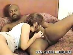 Cuckold milf plumbed in hotel room by large dusky bull Thumb
