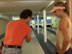 They have a hot fuck in the bowling alley Thumb
