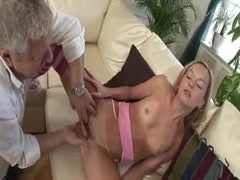 Teenager fucked by hard grandpa cock Thumb
