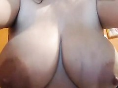 huge milk filled bra-stuffers played with Thumb