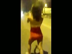 Brazilian teenage  disclose Her body In The Street Thumb