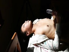 Kelly Kitty gasping  throat penetrate adorable  oriental fledgling  mannequin Thumb