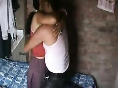scorching indian Aunty try to please  her Customer-I Thumb