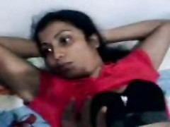 super hot indian youthfull  Couples foreplay on bed Thumb