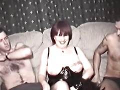 Homemade film with mature female and trio  fellows Thumb