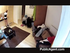 PublicAgent - Homemade movie  in a hotel room Thumb