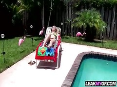 Madison Chandler pool side homemade sex video Thumb