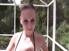 real inexperienced gf  oral pleasure and pulverize Thumb