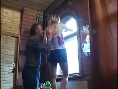 captivating  teen damsel gets cruelly by her lustful dad Thumb