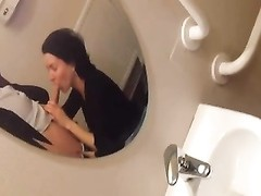 blowing in public toilet Thumb