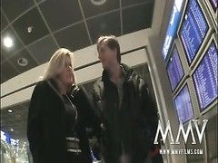 MMV Films German old housewife likes  public sex Thumb