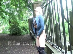 remarkable  Ashley Rider flashing London and public exhibitionism Thumb