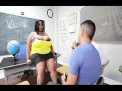 manstick Titted Teacher Candi And 2 Detentioned knobs Thumb